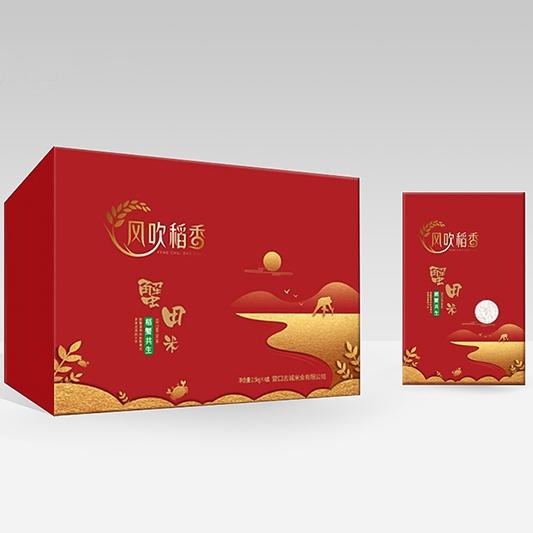 风吹稻香蟹田大米(2.5kg×4)
